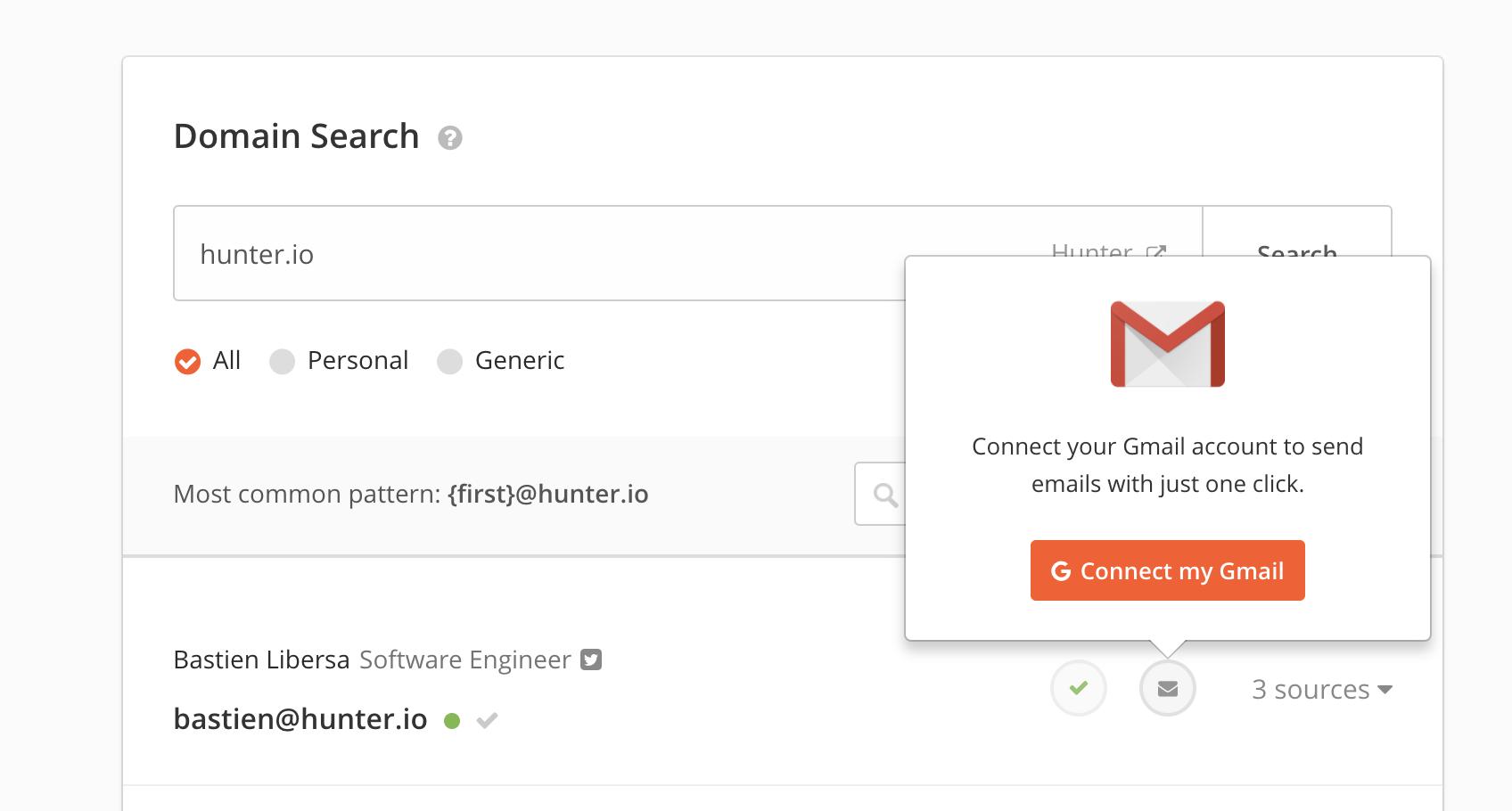 Gmail Integration Hunter Help Center