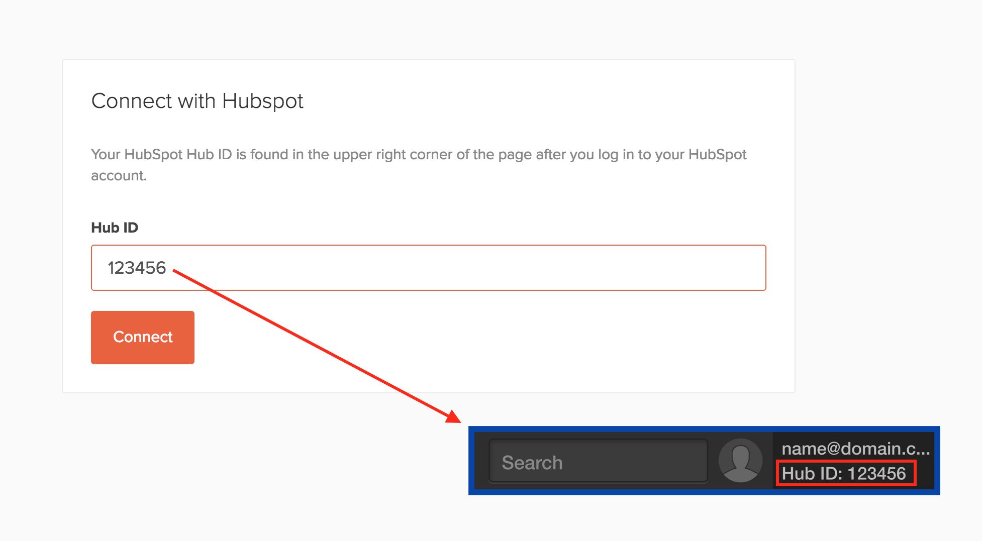 Hunter Hubspot ID